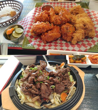 Quispamsis, Canada: The dishes ordered dring my first visit, it looked so good we had to taste everything before pic