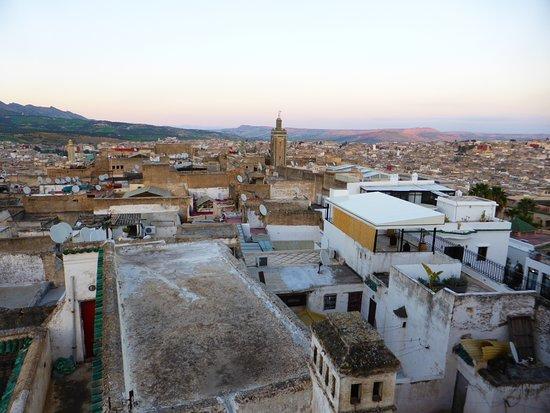 Dar El Ouedghiri : La vue panoramique de la terrasse