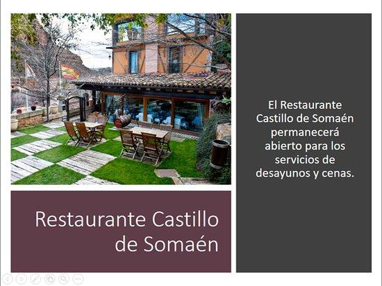 Somaen, Spain: Restaurante Castillo de Somaén