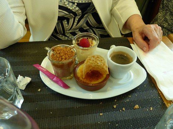 Villers-Cotterets, France : son café gourmand