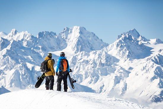 Verbier 4 Vallées ski area