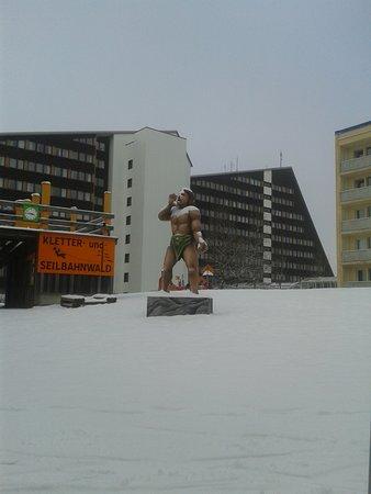 Schoneck, Germany: Das ist einfach nur ein Blick auf den Hotelkomplex