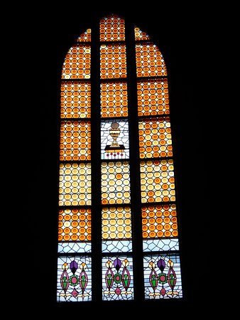 Corpus Christi Church (Kosciol Bozego Ciala): Stained Glass Window.