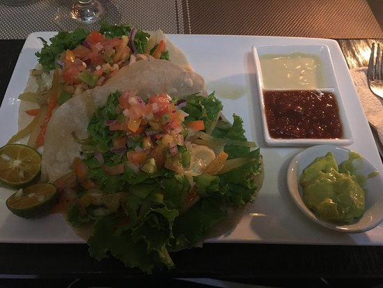 Template Bar And Restaurant: Vegetarian Tacos