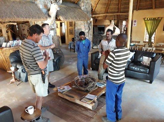 Willowmore, Afrika Selatan: Bhejane Game Reserve