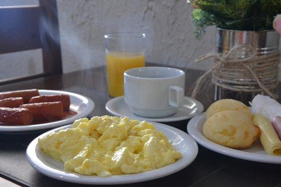 Pimenta Bueno, RO: Delicioso café da manhã!