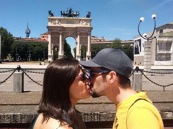 Arco della Pace in Milano