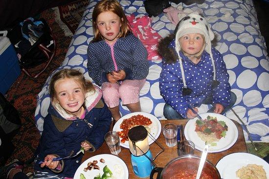 Pendoggett, UK: hmmm supper!