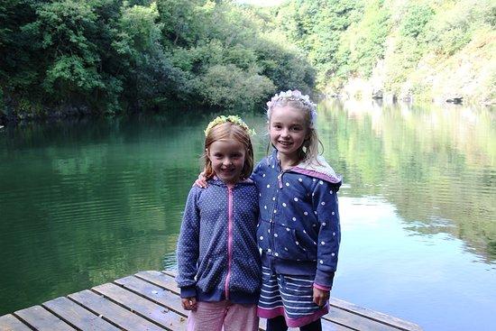 Pendoggett, UK: down at the lake