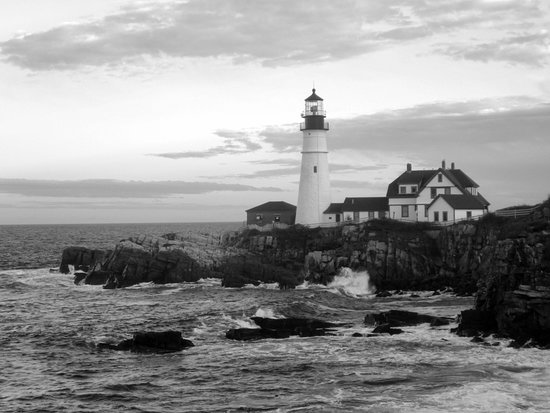 Cape Elizabeth, ME: Portland Head Lighthouse in the Morning