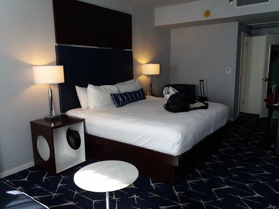Albion South Beach: Habitación superior, 1 cama King size