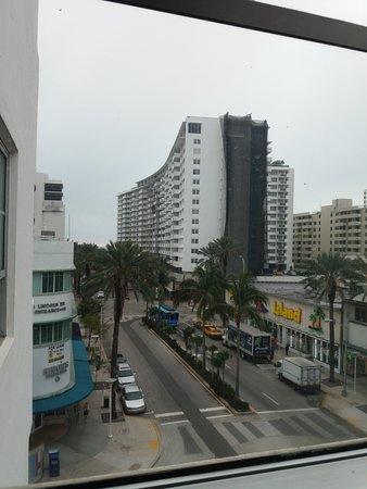 Albion South Beach: Vista desde la Habitación