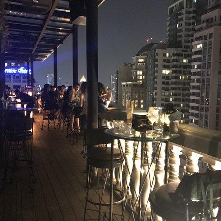 Impressive views, creative cocktails