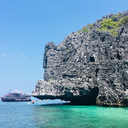 Toller Tagesausflug in den Ang Thong National Marine Park