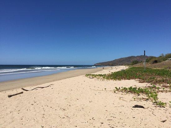 Playa Grande, Costa Rica: the beach