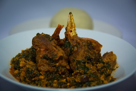 Haringey, UK: Efo Egusi and Pounded Yam