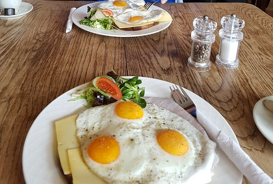 Brasserie Rodestein: Overheerlijke uitsmijter