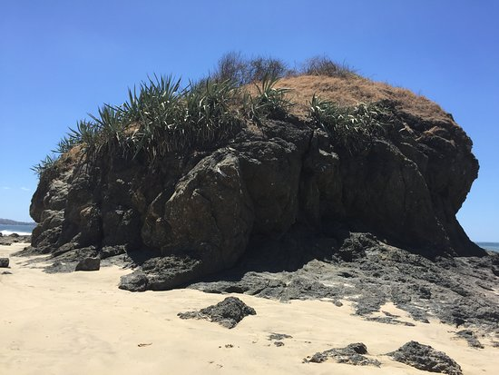 Playa Grande, Costa Rica: rock formation
