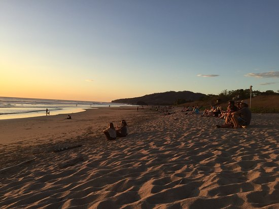Playa Grande, Costa Rica: sunset watching