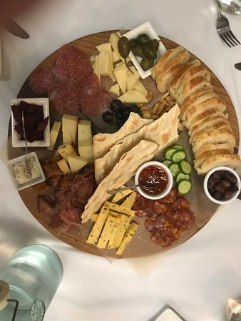 Southern Table foods: Charcuterie and Cheese Board