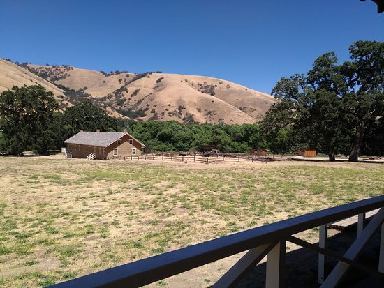 Lebec, Californie : View to the soldiers house