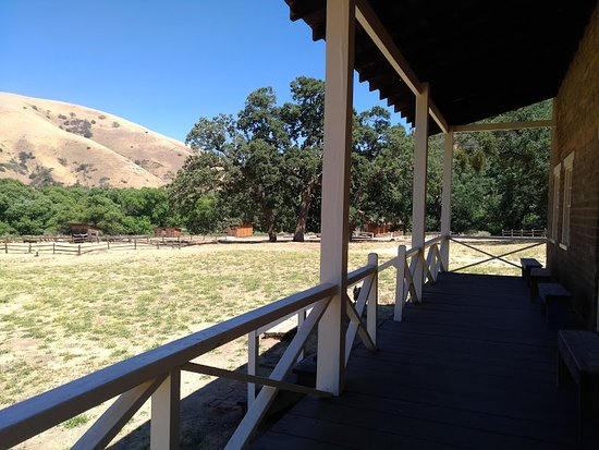 Lebec, Californie : Officer's house