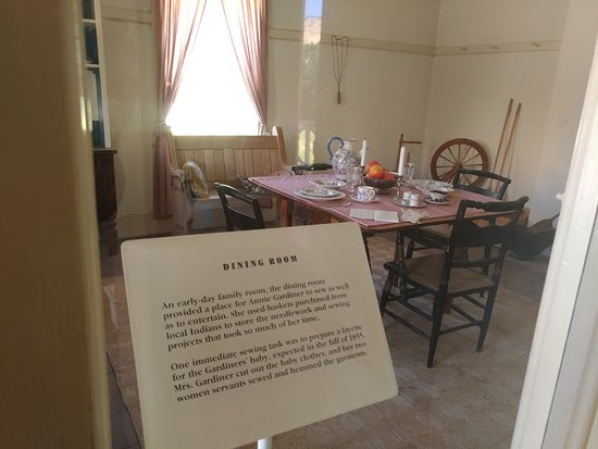 Lebec, Californie : Officers house