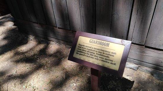 Lebec, Californië: Guardroom