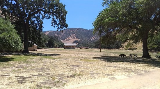 Lebec, Californië: The field