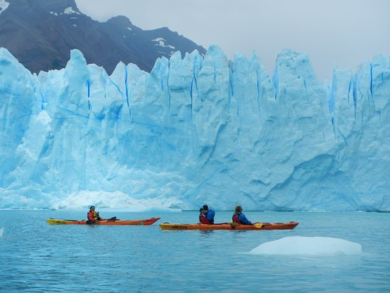 El Calafate, Argentine : north Wall of the Perito Moreno Glacier