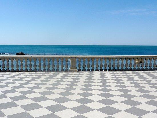 vista mare - Picture of Terrazza Mascagni, Livorno - TripAdvisor