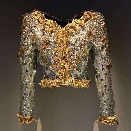 Lesage Embroidered Ysl Evening Jacket Picture Of Musee Yves Saint