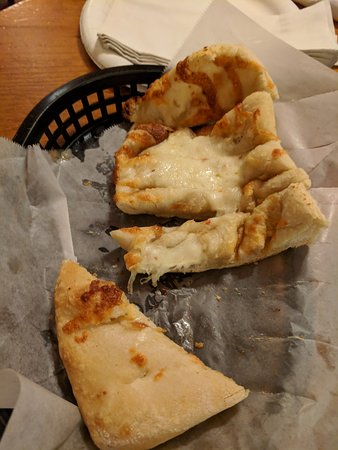 Atlas Brick Oven Pizzeria: cheesy bread