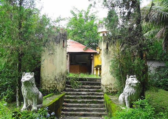 Capela Magdalena: Parte dos jardins