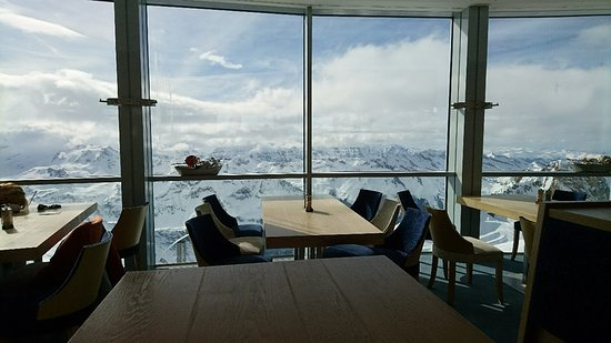 Zell am See, Österreich: View from restaurant