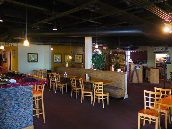Salute Italian Seafood Restaurant Gulfport Ms Interior Dining Area