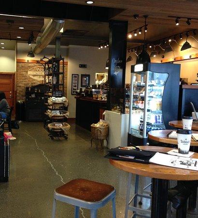 Blaine, Ουάσιγκτον: 咖啡店內