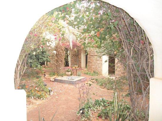 شنقيط, موريتانيا: vue du patio