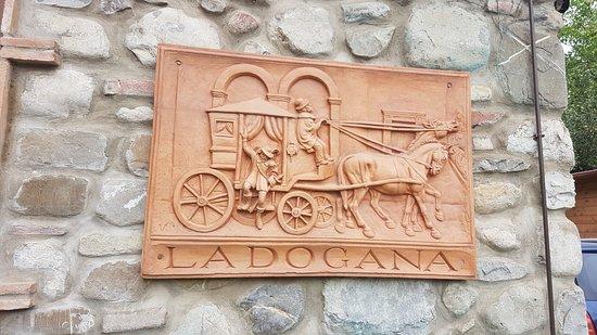 Proceno, Italia: osteria La Dogana