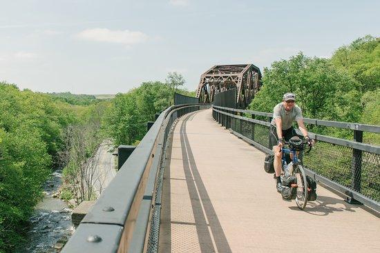 Cumberland, MD: Keystone Viaduct near Meyersdale, Pa.