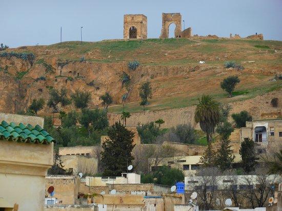 Tombe dei Merenidi : Vue de loin