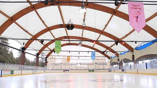 Ice arena open seasonally
