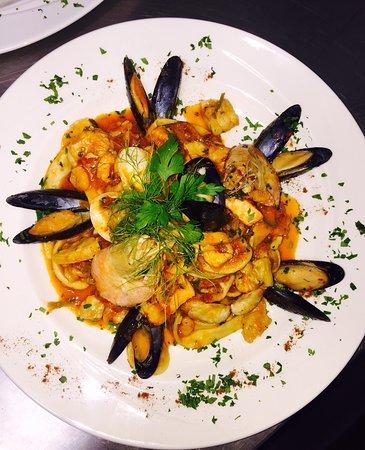 Valentino's: Spaghetti alla Marinara