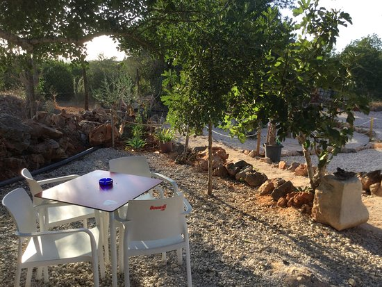 Rancho Belchior: outside terrace