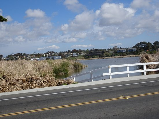 Oceanside, Californië: Views along the rail trail
