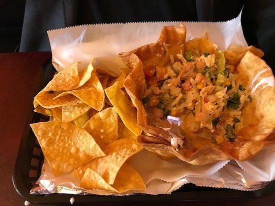 Chatsworth, GA: half eaten chicken bowl