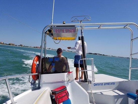 Parasailing The Pass Treasure Island Florida