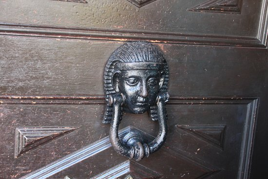Villa Zorayda Museum: The Moorish Themed Front Door Knocker