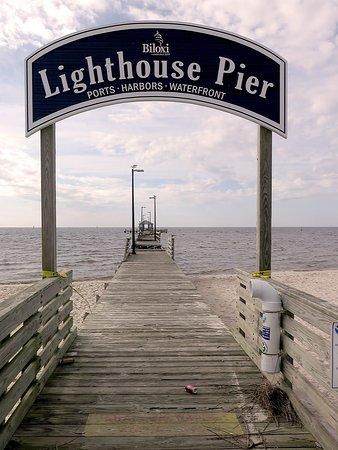 Biloxi Lighthouse Pier Collapsed Picture Of Biloxi Lighthouse