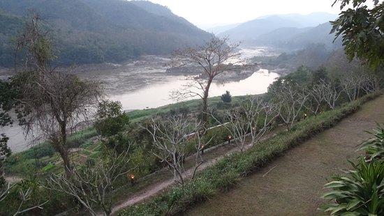 Pakbeng, Laos: Wunderschön gelegene Anlage an den Ufern des Mekong
